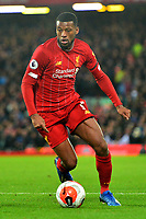Liverpool's Georginio Wijnaldum  in action<br /> <br /> Photographer Richard Martin-Roberts/CameraSport<br /> <br /> The Premier League - Liverpool v West Ham United - Monday 24th February 2020 - Anfield - Liverpool<br /> <br /> World Copyright © 2020 CameraSport. All rights reserved. 43 Linden Ave. Countesthorpe. Leicester. England. LE8 5PG - Tel: +44 (0) 116 277 4147 - admin@camerasport.com - www.camerasport.com