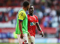 LONDON, ENGLAND - SEPTEMBER 25: Pape Souaré of Charlton Athletic after the Sky Bet League One match between Charlton Athletic and Portsmouth at The Valley on September 25, 2021 in London, England. (Photo by Ben Peters/MB Media)