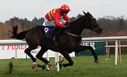 Klassical Dream ridden by Paul Townend races clear of the last on the way to winning the Tote Pays Dividends Maiden Hurdle during day one of the Leopardstown Christmas Festival at Leopardstown Racecourse.
