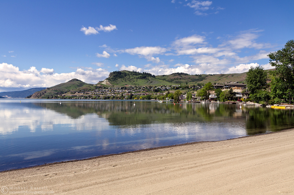 Kal Beach at the north end of Kalamalka Lake in Vernon, British Columbia, Canada