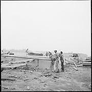 "ackroyd-P016 ""... construction on Swan Island April 2, 1964"""