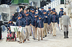 Team GBR - Opening Ceremony - Alltech FEI World Equestrian Games™ 2014 - Normandy, France.<br /> © Hippo Foto Team - Jon Stroud<br /> 24/06/14