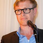 NLD/Amsterdam/20121004- Boekpresentatie Tommy Wieringa  - Dit Zijn de Namen, belgische schrijver Peter Terrin