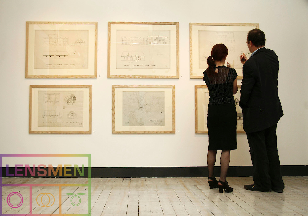Pictured at the opening of the Whitewash & Thatch Exhibition - Architectural Drawings from 1930's & 40's at the National Museum of Ireland - Decorative Arts and History Collins Barracks on 19th April 2007 <br /><br /><br />Commissioned by the National Museum of Ireland