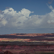 USA, West, Southwest, AZ, Arizona, Petrified Forest, Painted Desert, <br /> The Painted Desert in Petrified Forest National Park, AZ.