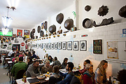 Bar do Mineiro is one of the most famous bar restarants in Santa Teresa - the bohemian district of Rio de Janeiro, up on the hill. Serving tradional minero food (food from Mians Gerais state) it is a local landmark.