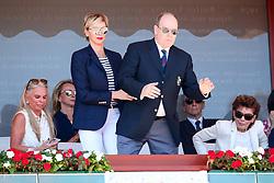 The final of montecarlo rolex master with Pier Casiraghi and Alberto of Monaco with Charlène Wittstock. 22 Apr 2018 Pictured: Montecarlo Rolex Master Final. Photo credit: Ferraro Simone / MEGA TheMegaAgency.com +1 888 505 6342