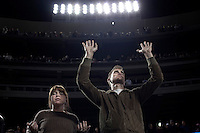 """En """"megachurch"""" i regi av pastor Joel Osteen. Dodger Stadium. 25.04.10."""