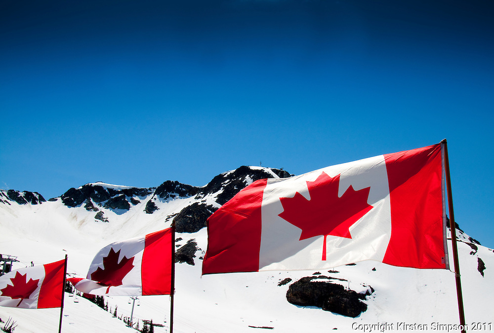 At the top of Whistler Mountian