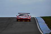 2012 FIA GT1 World Championship.Donington Park, Leicestershire, UK.27th - 30th September 2012.Enzo Ide / Francesco Castellacci, Ferrari 458 Italia GT3..World Copyright: Jamey Price/LAT Photographic.ref: Digital Image Donington_FIAGT1-17619