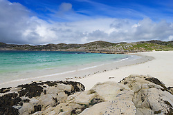 Beach at Achmelvich in Assynt, Sutherland, North West Scotland