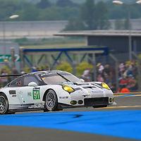 #91, Porsche 911 RSR (2016), Porsche Motorsport, driven by Patrick Pilet, Kevi Estre, Nick Tandy, 24 Heures Du Mans , 05/06/2016,
