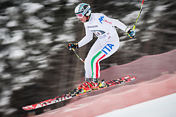 21.02.2013, Kandahar, Garmisch Partenkirchen, AUT, FIS Weltcup Ski Alpin, Abfahrt, Herren, 1. Training, im Bild Werner Heel (ITA) // Werner Heel of Italy in action during 1st practice of the  mens Downhill of the FIS Ski Alpine World Cup at the Kandahar course, Garmisch Partenkirchen, Germany on 2013/02/21. EXPA Pictures © 2013, PhotoCredit: EXPA/ Johann Groder