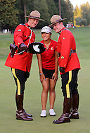 15 AUG 23  The RCMP mounties take a selfie with Lydia Ko after The Canadian Pacific Women's Open at The Vancouver Golf Club in Coquitlam, British Columbia, Canada.(photo credit : kenneth e. dennis/kendennisphoto.com)