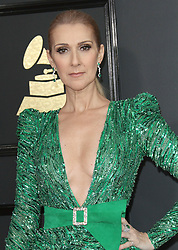 February 12, 2017 - Los Angeles, CA, United States - 12 February 2017 - Los Angeles, California - Céline Dion. 59th Annual GRAMMY Awards held at the Staples Center. Photo Credit: AdMedia (Credit Image: © AdMedia via ZUMA Wire)