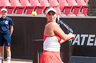 Alexa Guarachi during the 2019 Swedish Open in Båstad on July 13, 2019. Photo Credit: Katja Boll/EVENTMEDIA.