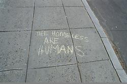 Lifestyle people family.Street graffiti regarding politics in Washington, DC CITY URBAN STOCK PHOTO