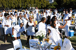 Fashion runway, entertainment and people at The Grand White 2019, Cape Town on 9 March.