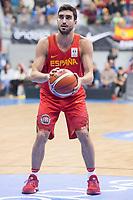 Spain Jaime Fernandez during FIBA European Qualifiers to World Cup 2019 between Spain and Slovenia at Coliseum Burgos in Madrid, Spain. November 26, 2017. (ALTERPHOTOS/Borja B.Hojas)