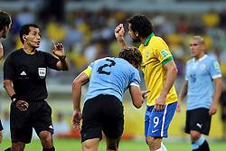 Fred em lance da partida entre Brasil e Uruguai válida pela Copa das Confederações, no Estádio Mineirão, em Belo Horizonte-MG. FOTO: Jefferson Bernardes/Preview.com