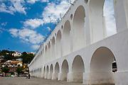 Lapa arches in the daytime, central city, Rio de Janeiro.