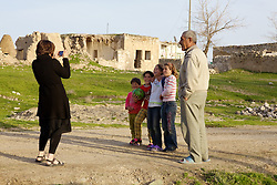 Young Girls Being Photographed