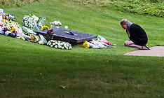 2015-07-07 Prince William attends Hyde Park Memorial ceremony with survivors and victim's families.