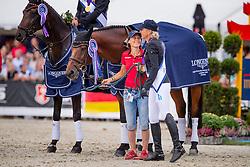 Klimke Ingrid, GER, Horseware Hale Bob, Thiemann Carmen <br /> European Championship Eventing<br /> Luhmuhlen 2019<br /> © Hippo Foto - Stefan Lafrentz<br /> 01/09/2019