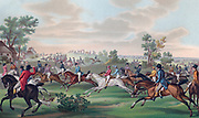 Horse racing in France, early 19th century