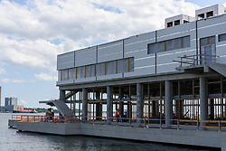 Boathouse at Canal Dock Phase II   State Project #92-570/92-674 Construction Progress Photo Documentation No. 14 on 25 August 2017. Image No. 01