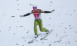 01.01.2013, Olympiaschanze, Garmisch Partenkirchen, GER, FIS Ski Sprung Weltcup, 61. Vierschanzentournee, Bewerb, im Bild Jaka Hvala (SLO) // Jaka Hvala of Slovenia during Competition of 61th Four Hills Tournament of FIS Ski Jumping World Cup at the Olympiaschanze, Garmisch Partenkirchen, Germany on 2013/01/01. EXPA Pictures © 2012, PhotoCredit: EXPA/ Juergen Feichter