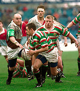 1997 Heineken European Cup,  Quins vs Leicester Tigers, Stoop 18-4-98 Leicester scrum half Jamie Hamilton,    © Peter Spurrier Sports Photo © [Mandatory Credit: Peter Spurrier/Intersport Images].