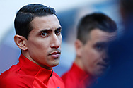 Paris Saint Germain's Argentinian midfielder Angel Di Maria looks on during the French Championship Ligue 1 football match between Paris Saint-Germain and Girondins de Bordeaux on September 30, 2017 at the Parc des Princes stadium in Paris, France - Photo Benjamin Cremel / ProSportsImages / DPPI