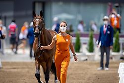 Blom Merel, NED, The Quizmaster, 251<br /> Olympic Games Tokyo 2021<br /> © Hippo Foto - Dirk Caremans<br /> 29/07/2021