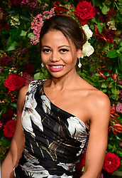 Emma Thynn, Viscountess Weymouth attending the Evening Standard Theatre Awards 2018 at the Theatre Royal, Drury Lane in Covent Garden, London