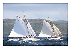 Day five of the Fife Regatta, Race from Portavadie on Loch Fyne to Largs. <br /> <br /> Fiona, Didier Cotton, FRA, Gaff Cutter, Wm Fife 3rd, 2005, Oblio, Gordon Turner, GBR, Gaff Cutter, Wm Fife 3rd, 2007<br /> <br /> * The William Fife designed Yachts return to the birthplace of these historic yachts, the Scotland's pre-eminent yacht designer and builder for the 4th Fife Regatta on the Clyde 28th June–5th July 2013<br /> <br /> More information is available on the website: www.fiferegatta.com
