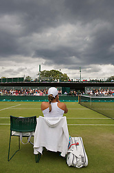 24.06.2011, Wimbledon, London, GBR, Wimbledon Tennis Championships, im Bild Tamira Paszek (AUT) during the Ladies' Singles 3rd Round match on day five of the Wimbledon Lawn Tennis Championships at the All England Lawn Tennis and Croquet Club, EXPA Pictures © 2011, PhotoCredit: EXPA/ Propaganda/ *** ATTENTION *** UK OUT!