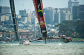 America's Cup 34, Day two