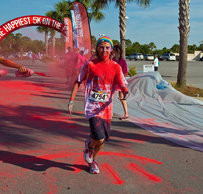 THE COLOR RUN, PANAMA CITY BEACH, FLORIDA