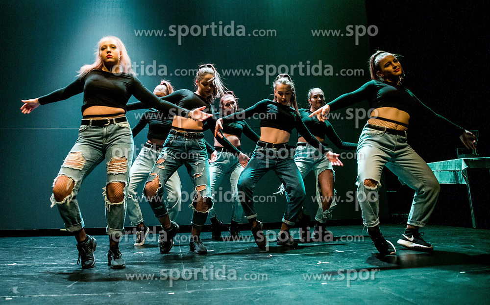 Dance group perform during Slovenian Tennis personality of the year 2017 annual awards presented by Slovene Tennis Association Tenis Slovenija, on November 29, 2017 in Siti Teater, Ljubljana, Slovenia. Photo by Vid Ponikvar / Sportida