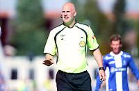 Fotball , 4. august 2013 , Tippeligaen , Eliteserien , <br /> Sarpsborg 08 - Strømsgodset<br /> dommer Trond Ivar Døvle