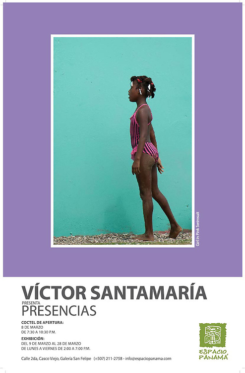 Víctor Santamaría, Fine Art Panamá.<br /> <br /> Exposición Presencias.