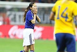 13.07.2011, Commerzbank Arena, Frankfurt, GER, FIFA Women Worldcup 2011, Halbfinale,  Japan (JPN) vs. Schweden (SWE), im Bild.Homare Sawa (Japan).. // during the FIFA Women´s Worldcup 2011, Semifinal, Japan vs Sweden on 2011/07/13, Commerzbank Arena, Frankfurt, Germany.   EXPA Pictures © 2011, PhotoCredit: EXPA/ nph/  Mueller       ****** out of GER / CRO  / BEL ******