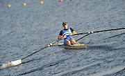 Eton, United Kingdom.   Women's single scull, Katherine GRAINGER move away from the start at the 2012 GB Rowing Senior Trials, Dorney Lake. Nr Windsor, Berks.  Saturday  10/03/2012  [Mandatory Credit; Peter Spurrier/Intersport-images]