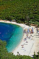 Grece, iles Ioniennes, Cephalonie, plage de Antisamos // Greece, Ionian island, Cephalonia, Antisamos beach