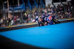 May 19, 2018 - Le Mans, Sarthe, France - MAVERICK VINALES - SPANISH - MOVISTAR YAMAHA MotoGP - YAMAHA (Credit Image: © Panoramic via ZUMA Press)