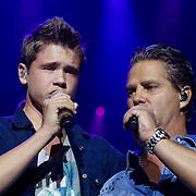 NLD/Amsterdam/20121117 - Danny de Munk 30 jaar in het vak, Dave Dekker en Danny de Munk