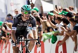 Winner Sam Bennett (ITA) of Bora - Hansgrohe during last Stage 4 of 24th Tour of Slovenia 2017 / Tour de Slovenie from Rogaska Slatina to Novo mesto (158,2 km) cycling race on June 18, 2017 in Slovenia. Photo by Vid Ponikvar / Sportida