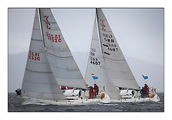 Brewin Dolphin Scottish Series 2010, Tarbert Loch Fyne - Yachting..Day one stated late but resulted in good conditions on Loch Fyne.Sigma 33 1532C ,Rascal ,Fergus Crawford ,CCC/FYC and GBR4607 ,Leaky Roof II ,Harper/Robertson ,CCC/Cove SC...