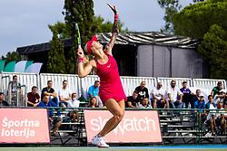 PORTOROZ, SLOVENIA - SEPTEMBER 16: Tereza Martincova of Czech Republic competes during the 3rd Round of WTA 250 Zavarovalnica Sava Portoroz at SRC Marina, on September 15, 2021 in Portoroz / Portorose, Slovenia. Photo by Matic Klansek Velej / Sportida